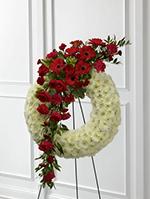 Graceful Tribute Wreath